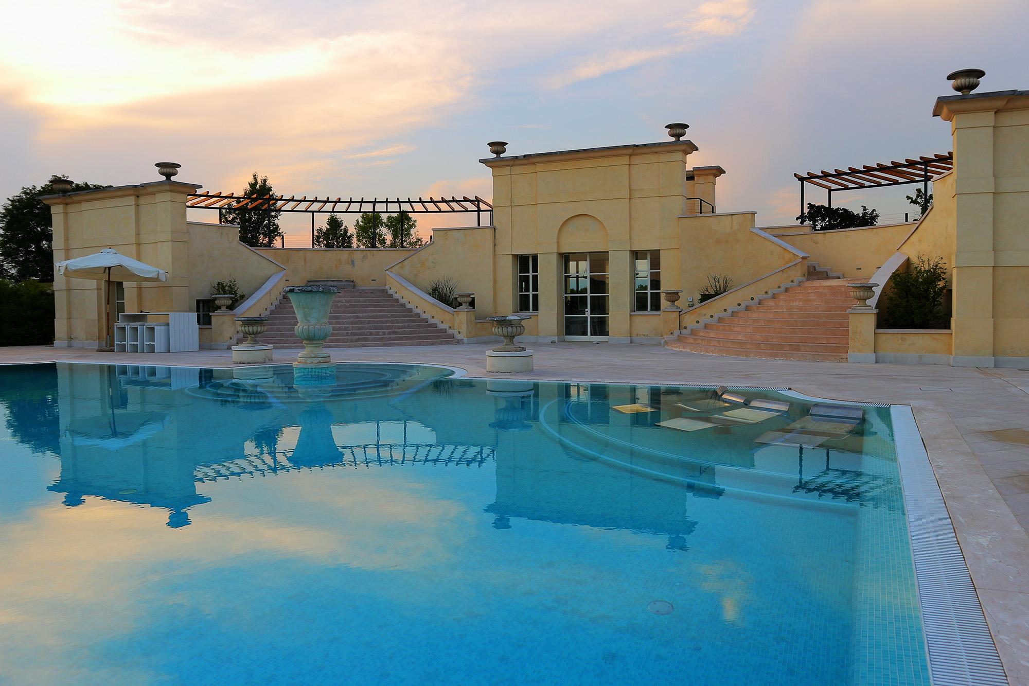 location per matrimoni a treviso con piscina